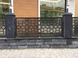 Ferforje balkon korkuluk modelleri